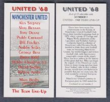 Manchester United v Benfica Line Up 1